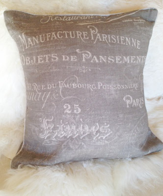 Parisienne Pillow Slip Cover