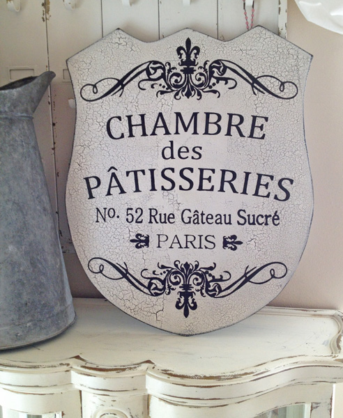 French Patisseries Sign