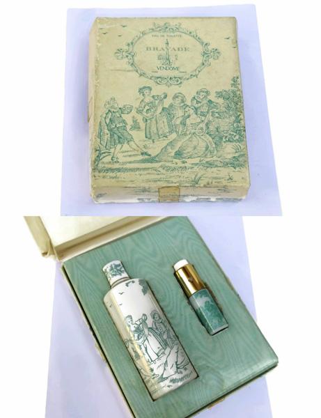 Vinatge French Perfume Set