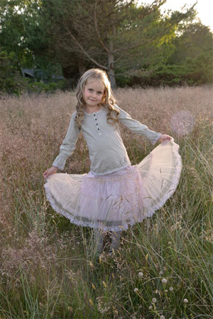 Powder Pink Belle Skirt