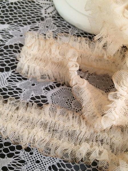 Ruffled Petticoat Ribbon Trim