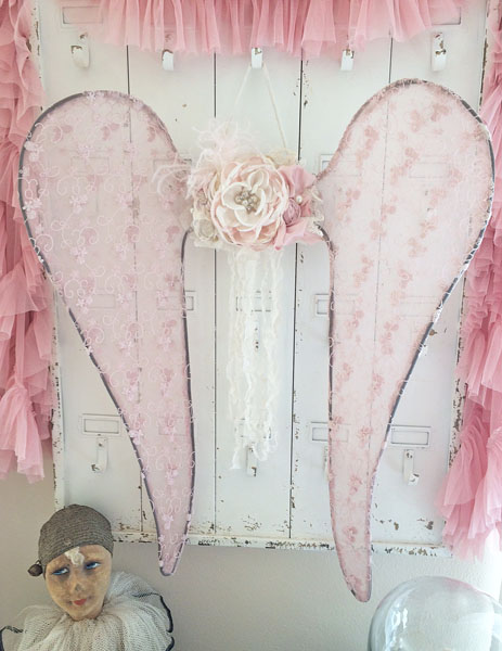 Pretty In Pink Fairy Angel Wings