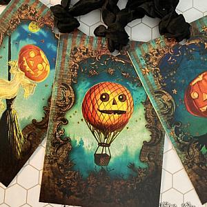 Pumpkin Halloween Gift Tags
