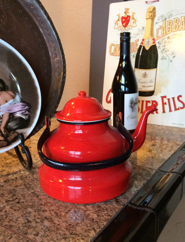 French Vintage Tea Kettle