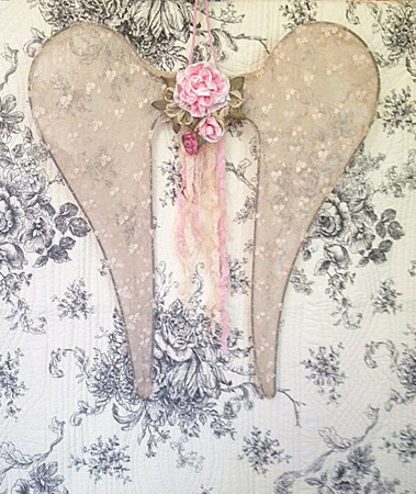 Roses And Angel Wings
