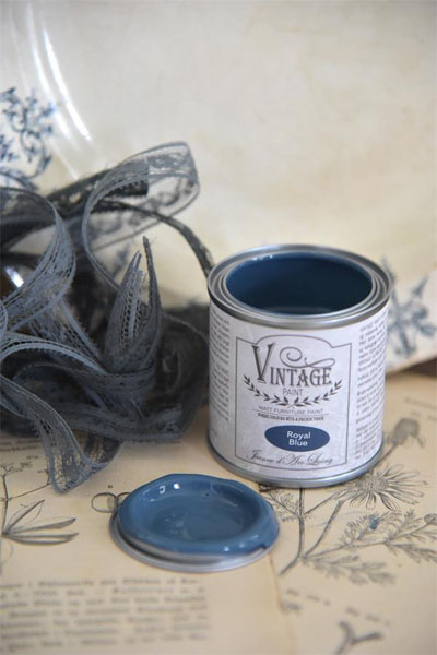 Vintage Paint Royal Blue