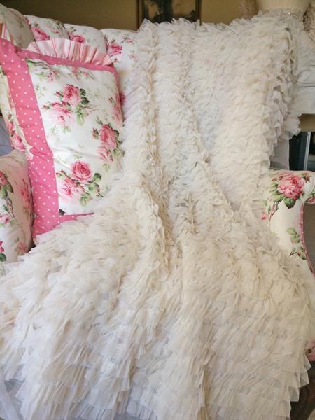 Gorgeous Ruffled Tulle Fabric