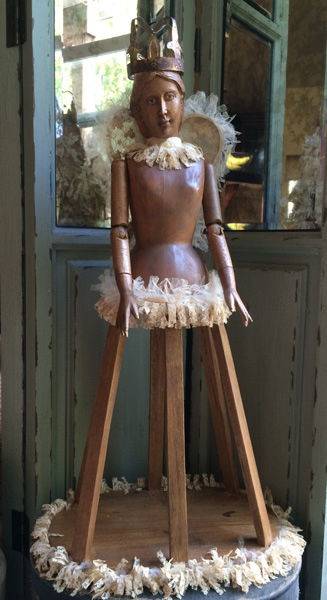 Adorned Santos Doll
