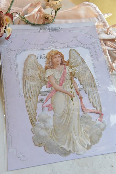 Beautiful Angel Die Cut Scrap