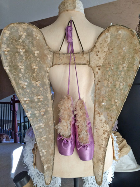 Shabby Rustic Angel Wings