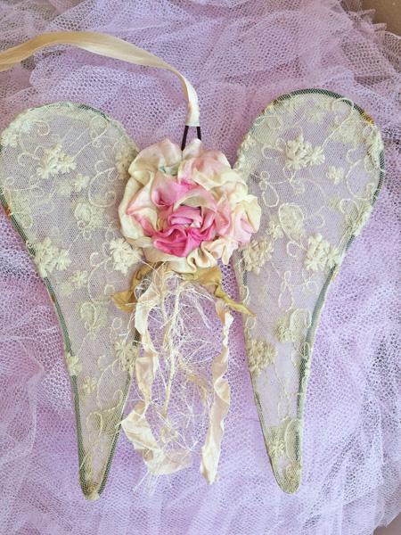 Silk Ribbon Tulle Wings