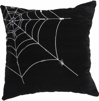 Spider Web Pillow