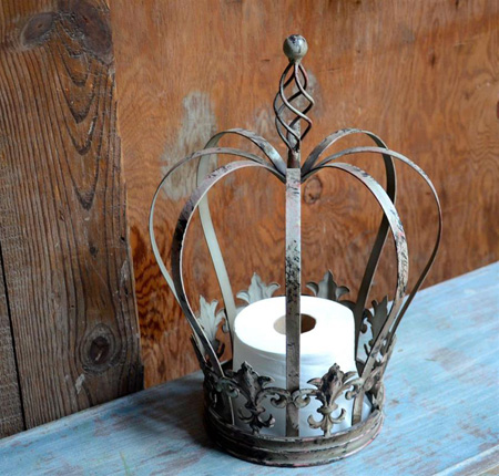 Patinated French Crown