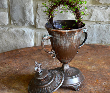 French Style Stove Top Urn