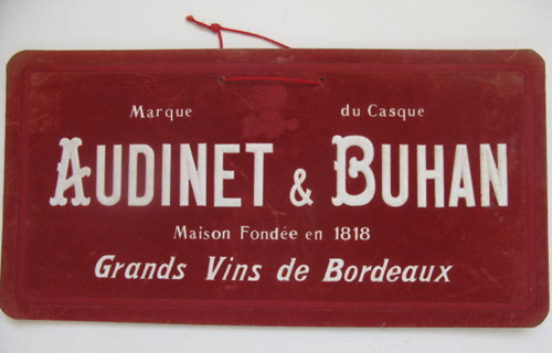 French Wine Sign