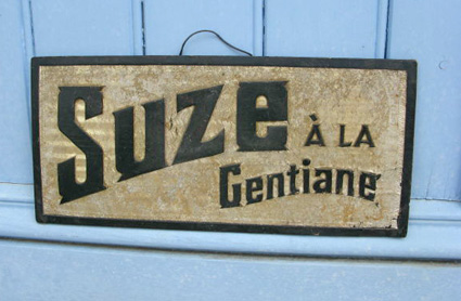 French Vintage Advertising Sign