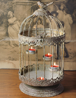 Bird Cage Tea Light Holder