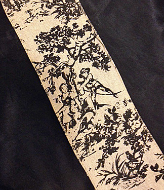 French Toile Ribbon