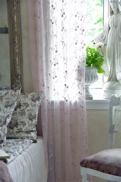 JDL Soft Rose Tulle Fabric