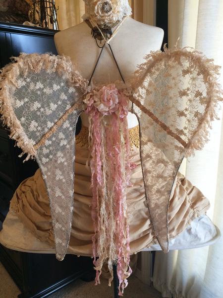 Victorian Angel Wings