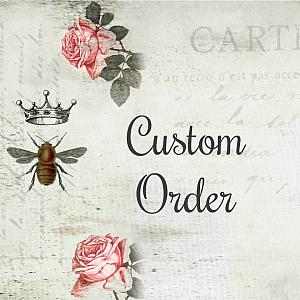 CUSTOM ORDER for MW