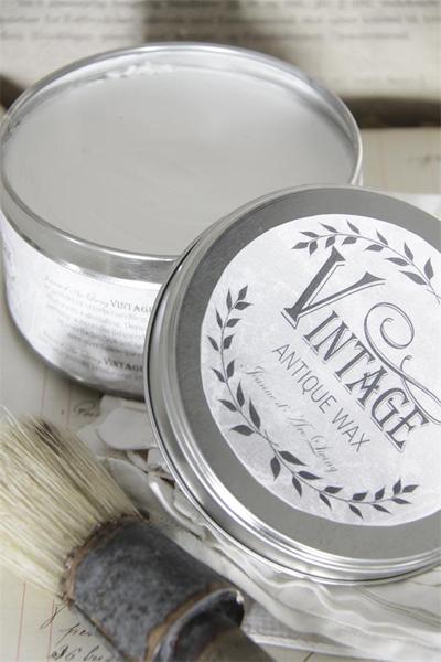 Vintage Paint Antique Wax White