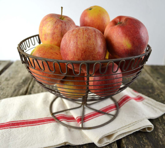 Rustic French Fruit Basket