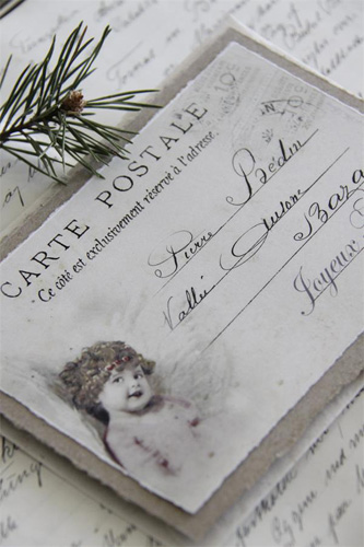 Carte Postale Christmas Card 1