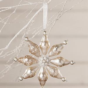 Bethany Lowe Winter Polkadot Starburst Ornament