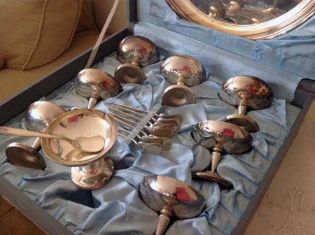 Vintage Dessert Service Complete Set