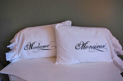 French Pillow Case Set